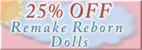 Remake reborn doll sale