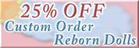 Custom order reborn sale