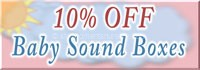 Baby sounds boxes sale