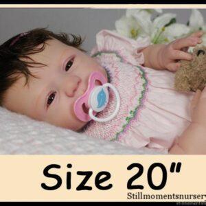 "Custom Order Reborn Doll Sized 20"""
