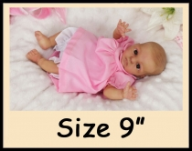 "Custom Order Reborn Doll Sized 9"""