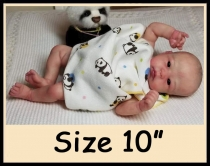 Custom Order Reborn Doll Sized 10″