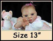 Custom Order Reborn Doll Sized 13″