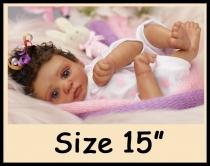 Custom Order Reborn Doll Sized 15″