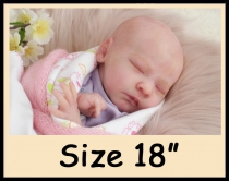 Custom Order Reborn Doll Sized 18″
