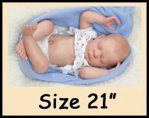 Custom Order Reborn Doll Sized 21″