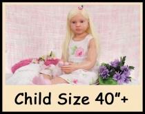 "Custom Order Reborn Doll Child Size 42"""